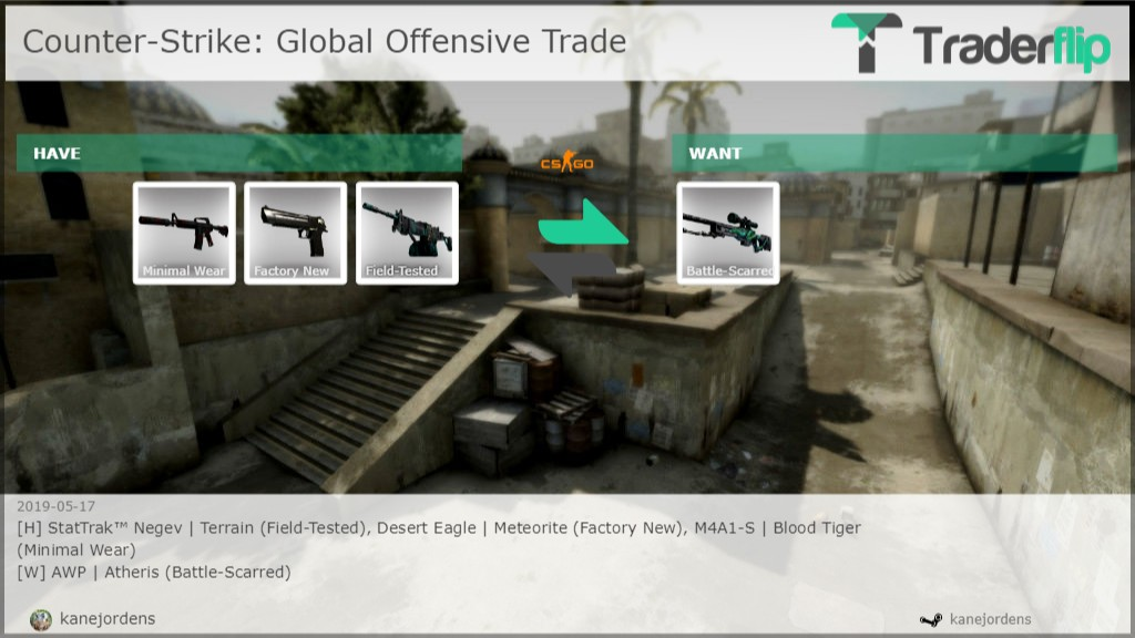 Kanejordens Wants To Trade Counter Strike Global Offensive Items