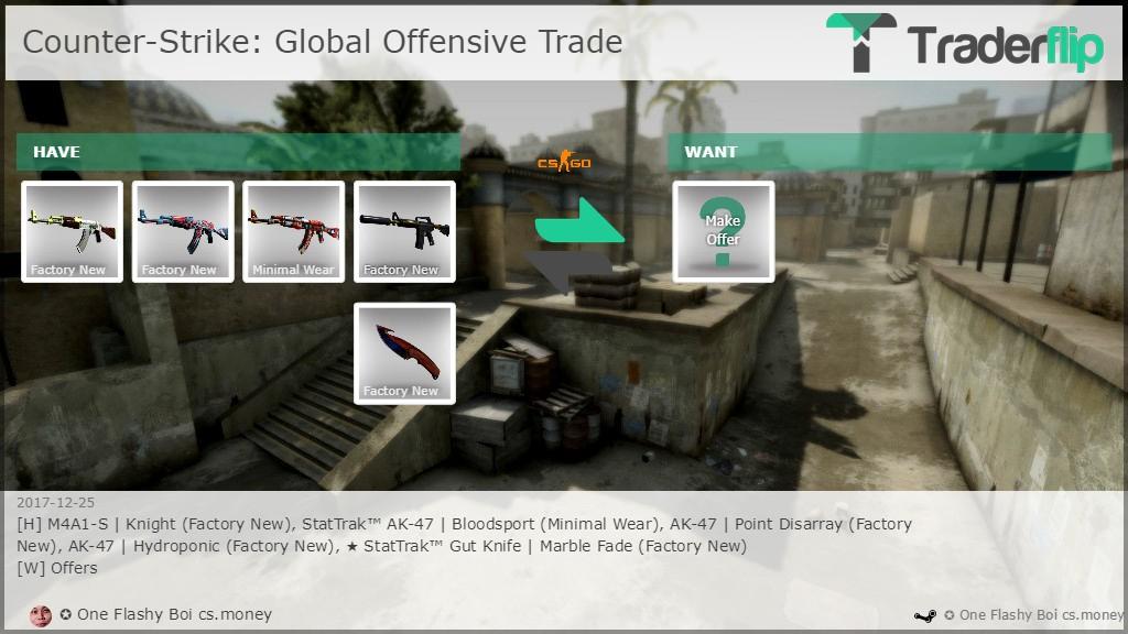one flashy boi cs money wants to trade counter strike global