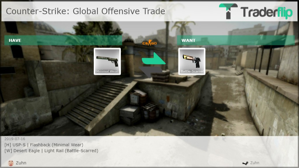 Zuhn Wants to Trade Counter-Strike: Global Offensive Items